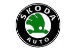 Shkoda logo coloring pages online