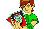 Ben ten coloring pages online from cartoons