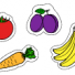 Fruits and vegetables coloring pages online for kids