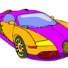 Bugatti cool cars coloring pages online for kids