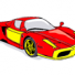Ferrari cool cars coloring pages for kids