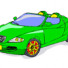 Seat cool cars coloring pages for kids