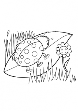 Spring seasons coloring pages for kids, printable