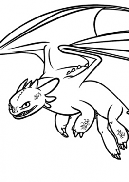 How to train Dragon coloring pages for kids printable free