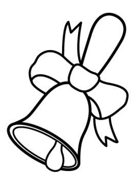 School bell coloring page, classes coloring page for kids, printable free