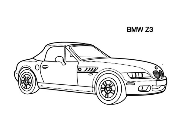 Cars coloring pages for kids - cars coloring books for kids